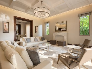 Al Barari  upgraded mansion surrounded by lush green