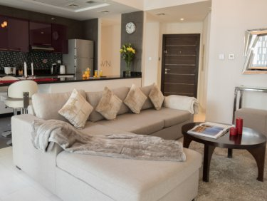Fully Furnished 2 Bedroom | Partial Marina View