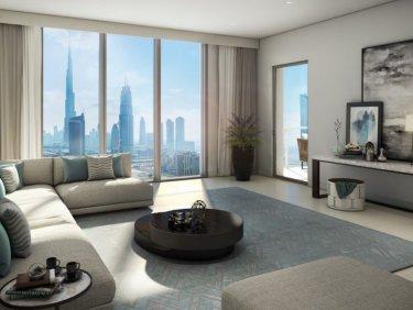 4 Bed | High Floor |Burj & Fountain Panoramic View