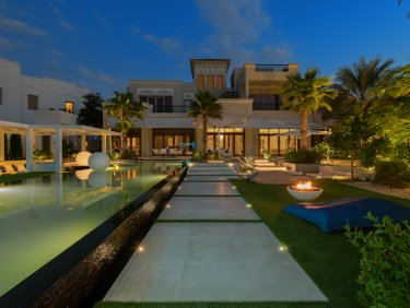 EXCLUSIVE Al Barari villa with one of the most extravagant gardens in the development