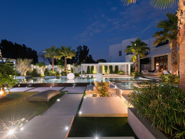 Al Barari villa   one of the most extravagant gardens in the development