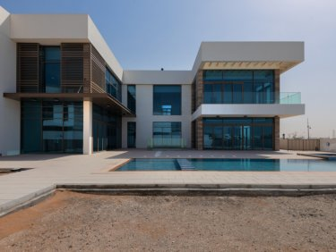 Contemporary Mansion with Crystal Lagoon view