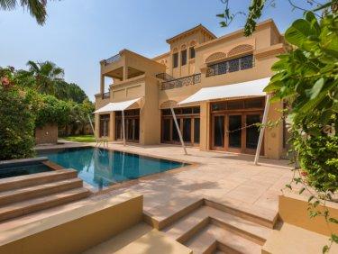 Al Barari B type Corner villa | Vacant