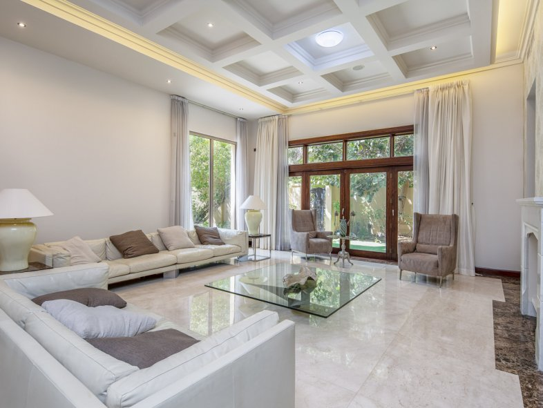 Villa available for sale in Bromellia, Al Barari