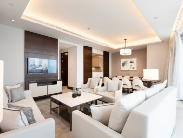 Rare Unit Burj Facing Four Bedroom
