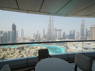 Address Downtown 2 bed Full Fountain and Burj View