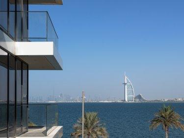 Atlantis view corner apartment on Palm Jumeirah