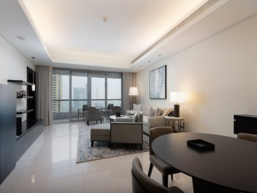 Luxury Big Size One bed with Downtown View