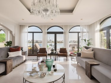 Upgraded Garden Home villa on Palm Jumeirah