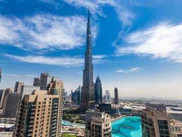 Huge 2 Bedrooms Full Burj Khalifa View.